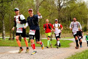 God stemning i Ecotrail Oslo i fjorårets løp. Foto: Bjørn Hytjanstorp