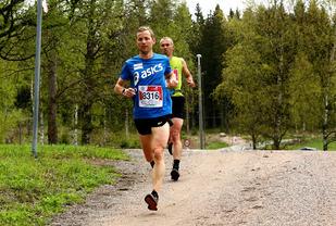 Didrik Hermansen vant 80-kilometeren i fjor, og stiller til start i år igjen - som en siste gjennomkjøring før Western States 100 miles. (Foto: Bjørn Hytjanstorp)