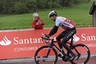 Edvald Boasson Hagen har tatt andreplassen på den 2. etappen, og har kortet inn forspranget til sammenlagtlederen.