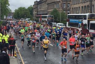 Fra 2015-utgaven av Edinburgh Marathon Festival (Arrangørfoto).