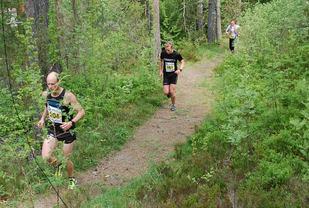 John Christian Deighan Hanssen tok tidlig ledelsen og økte hele veien. (Foto: Arrangøren)