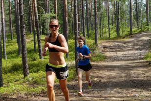 Marte Pedersen vant kvinneklassen klart. (Foto: Lars Frode Strømland)