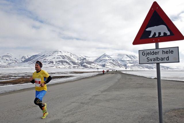 Andreas Nygren var raskeste løper på maraton. (Foto: Kjell Håkon K. Larsen)