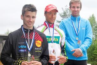 De tre klart beste i Modilten anno 2017 etter stigende plassering (fra venstre): Jørgen Moen, Raymond Lishaugen og Per Erik Monsrud.