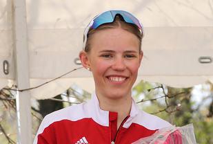 Pernille Karlsen Antonsen vant og forbedra 800 m-persen sin med over 2 og et halvt sekund.(Arkivfoto: Runar Gilberg)
