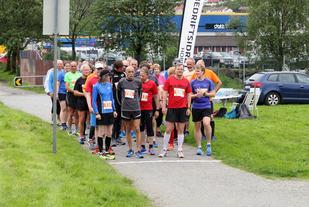 Klart for start i Springkarusellen i Bergen