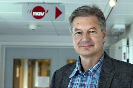 Helge Ødegård, leder Nav Østre Toten