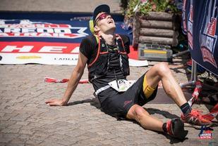 Krogvik har kommet i mål til en veldig imponerende 3. plass. (Foto: Arrangøren)