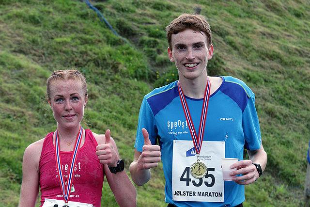 Løpssterke Eli Anne Dvergsdal og Marius Vedvik er på plass i Jølster
