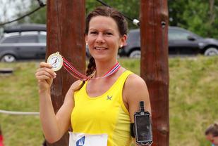 Vivian Kyte med sin første seier i Jølster Maraton