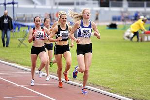 Mariann Roe under VU-spelen tidlig i juli i år. Foto: Arne Dag Myking