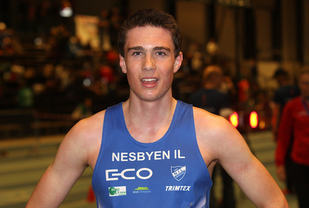 Sondre Juven er i stadig framgang og har klart kravet til junior-EM på både 1500 og 800 m. (Arkivfoto: Tom Roger Johansen)