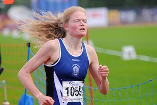 Mariann Roe har kvalifisert seg på 10 000 meteren i U23-EM. (Foto: Arne Dag Myking)