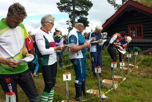 Klare til start ved Vollkoia. (Foto: Stein Arne Negård)