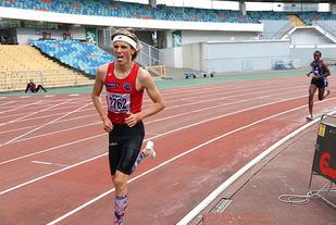 Lars Agnar Hjelmeset har vist meget god løpsform i år og er nå klar for 3000 meteren i De europeiske ungdomslekene. (Foto: Arne Dag Myking)