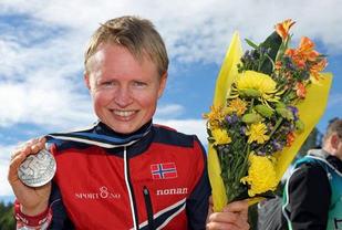 Avskrevet: Marianne Andersen hadde ikke ikke forestilt seg å skulle kunne løpe i VM igjen, etter å ha vært borte siden 2011.