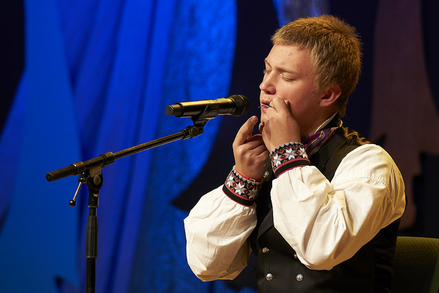 Eivind Tanche-Larsen Knutsen, vinner av munnharpe junior  Mottaker av Furepris-stipend på 10 000 kr.    Foto: Thor Hauknes