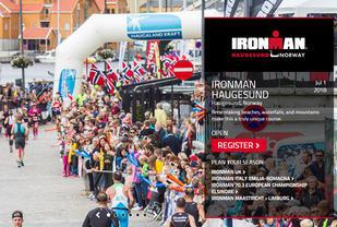 1. juli neste år blir det ekte Ironman, full distanse, i Haugesund.