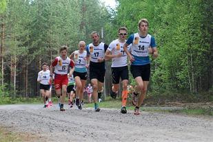 Eirik Nordaas var raskest ut fra start i årets sommerlige utgave i slutten av mai foran Vegard Osvold, vinnerne Svein Nordaas og Johanne Hauge Harviken samt Sigurd Nordaas.