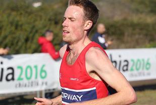 Ørjan Grønnevig har løyprekorden. Her er han i aksjon under EM i terrengløp i 2016. (Foto: Kjell Vigestad)