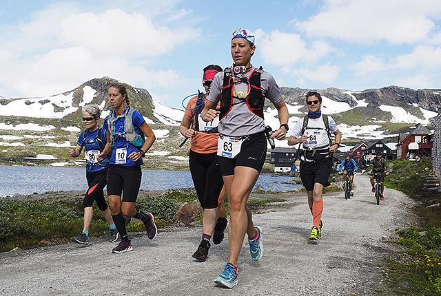 Neste løp ut er Rallarvegsløpet 21. juli. Bildet er fra dag 2 i fjorårets løp. (Foto: Bjørn Johannessen)