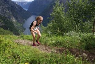 Karoline Holsen Kyte med knallsterk løyperekord (Foto: Jan Christian Jerving)