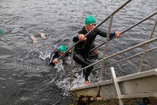 I år er svømmedelen på Ålesund Triathlon lagt til området Sunnmørshallen/Volsdalsberga