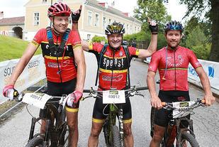 Pallen dag 2: Det ble seier til Andreas Bye også dag 2, men i dag var det jevnt. Frode Bokerød ble nr. 2 og Tor Arne Halvorsen nr. 3. (Foto: Kjell Vigestad)
