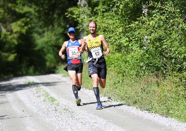 Runar Sæther, SPKL Rye (35) vant fjorårets Kongsvinger Maraton foran Gjermund Sørstad (52). (Foto: Bjørn Hytjanstorp)