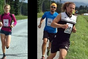 Vinnerne 30 Hege Ringdal og 50 Morten Eilifsen. 52 Robin Holden ble nummer 2. (Foto: Arrangøren)