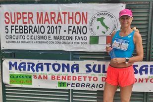Kristine Gjelsvik Rønningen er i gang med sin største løpsutfordring til nå. (Foto: Privat)