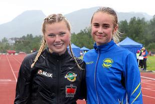 Silje Lindstad og Asta Susan Rustad vant hver sin klasse på 3000 meter hinder i junior-NM