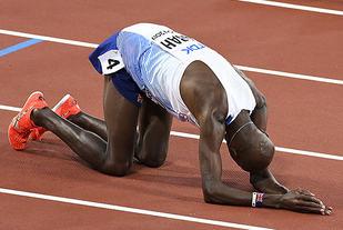 Mo Farah har vunnet ti gull og to sølv på 5000 og 10 000 m i globale mesterskap. De to gangene han er blitt slått, har det vært av en etiopisk løper. (Foto: Bjørn Johannessen)