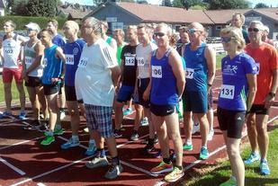 Fra starten av 10000 m (Foto: IL Express/Rino Rudsli).