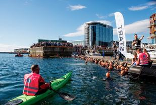 18.-19. august arrangeres 2. utgave av Lofoten Triathlon. (Foto: arrangøren)