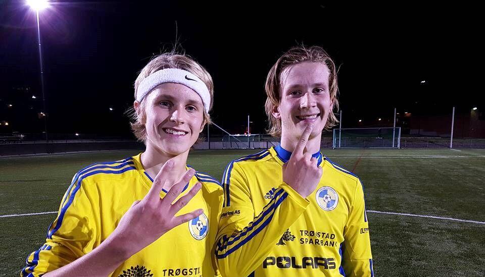 Emil og Fabien mot Sprint 3