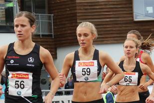 Christina Toogood og Camilla Ziesler lett til finale på 1500 meter