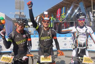 UltraBirken ble vunnet av Lars Granberg (50095) foran Gregory Saw (50082) og med Odd Erlend Hansen Berg (50063) - alle vinner av sine klasser.