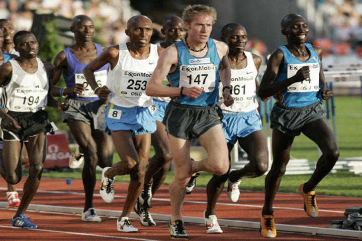 Marius Bakken bød mange ganger verdens beste løpere opp til dans (Foto: Per Inge Østmoen)