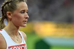 Hedda Hynne sliter med en liten hamstringsskade og har trukket seg fra VM innendørs. (Foto: Bjørn Johannessen)