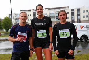 De tre raskeste i langløypa; Anders Brynestad, Eldbjørg Moxnes og Njål Pedersen. (Foto: Bjørn Hytjanstorp)