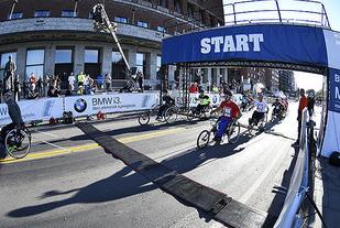 Start Racing Rullestol Foto: Bjørn Johannessen