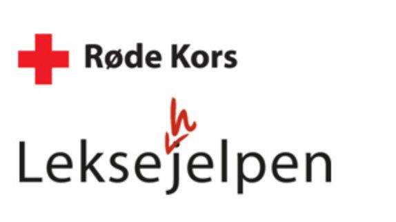 Røde kors leksehjelp-logo