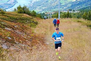 Johan Bugge vant Hafjell Opp. Foto: Stein B. Olsen