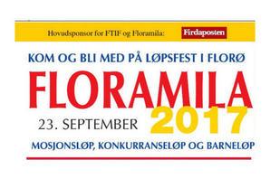 Floramila består av distansene 10 km, 5 km og 1 km barneløp.