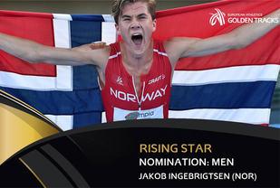 Jakob Ingebrigtsen er en av de ti nominerte i herreklassen, som kan bli kåret til årets