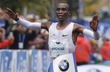 Eliud Kipchoge. Foto: Berlin Marathon