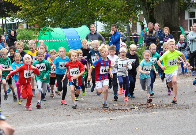 Aller ivrigst var deltakerne i Storplena Rundt Foto: Jørund Wessel