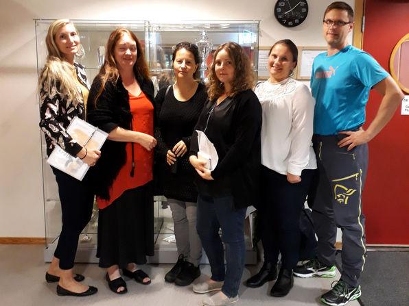 Medlemmene i det nye foreldreutvalet, Kommunalt foreldreutval (KFU).