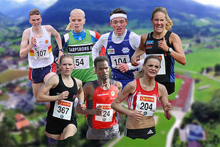 Et knippe løpere som Kondis tror kan bli norgesmestere i terrengløp: Marius Vedvik, Julie Marie Larsen, Stian Øvergaard Aarvik, Maria Sagnes Wågan, Karoline Holsen Kyte, Zerei Kbrom Mezngi og Live Solheimdal.